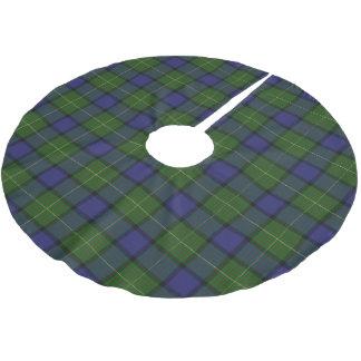 Scottish Clan Muir Tartan Brushed Polyester Tree Skirt