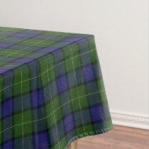 Scottish Clan Muir Tartan Tablecloth