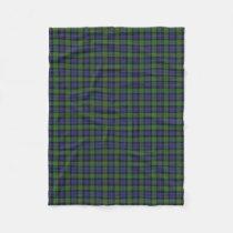Scottish Clan Murray Classic Tartan Fleece Blanket