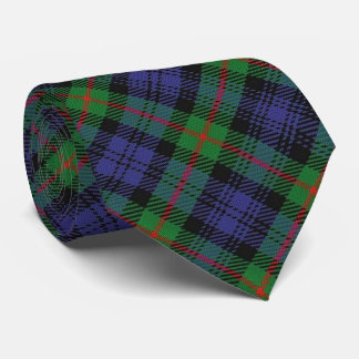 Scottish Clan Murray M Monogram Tartan Tie