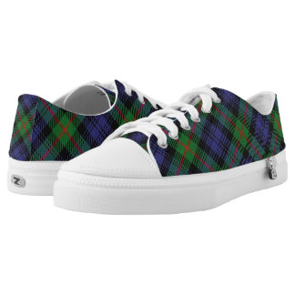 Scottish Clan Murray Tartan Low Tops