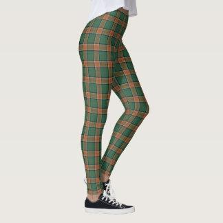 Scottish Clan Pollock Tartan Leggings