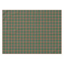 Scottish Clan Pollock Tartan Tablecloth