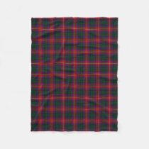 Scottish Clan Rattray Classic Tartan Fleece Blanket