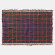 Scottish Clan Rattray Tartan Throw Blanket