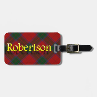 Scottish Clan Robertson Luggage Tag