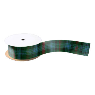 Scottish Clan Ross Classic Hunting Tartan Satin Ribbon
