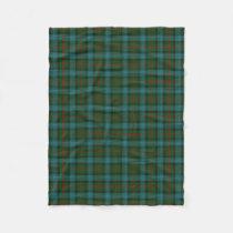 Scottish Clan Ross Hunting Classic Tartan Fleece Blanket