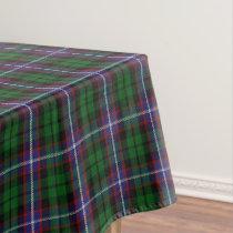 Scottish Clan Russell Tartan Tablecloth