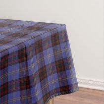 Scottish Clan Rutherford Tartan Tablecloth