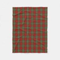 Scottish Clan Scott Classic Tartan Fleece Blanket