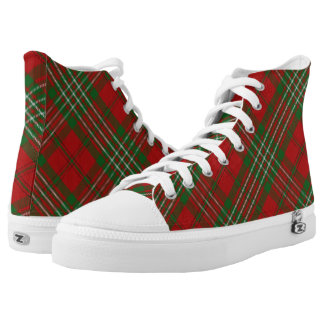 Scottish Clan Scott Tartan Plaid High Tops