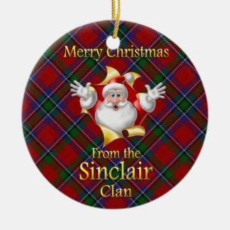 Scottish Clan Sinclair Christmas Ornament