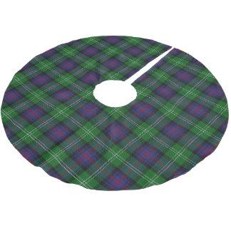 Scottish Clan Sutherland Tartan Brushed Polyester Tree Skirt
