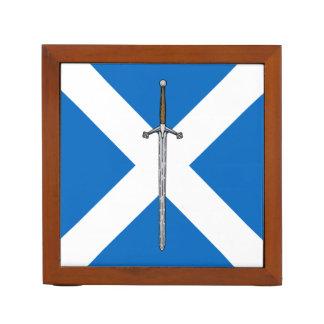 Scottish Claymore Desk Organisers