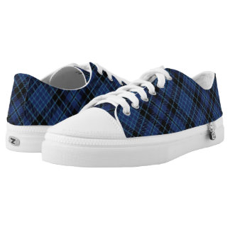 Scottish Clergy Tartan Plaid Low Tops