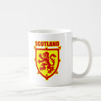 Scottish Coat of Arms Lion Rampant Coffee Mug