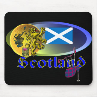 Scottish Collage Mouse Pads