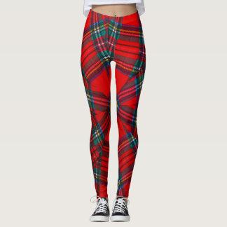 scottish coloured vortex   leggings