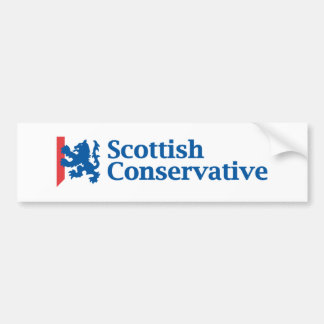 Scottish Conservative Logo Bumper Sticker