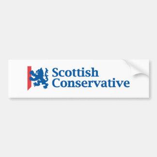 Scottish Conservative Logo Bumper Sticker