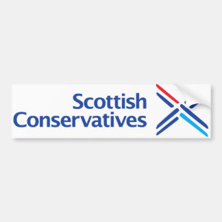Scottish Conservatives Logo Bumper Sticker