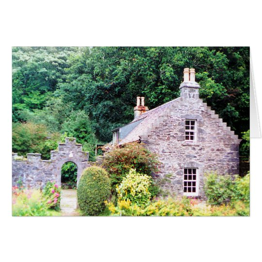 Scottish Cottage Card