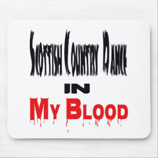 Scottish Country Dance In Blood Mouse Pad