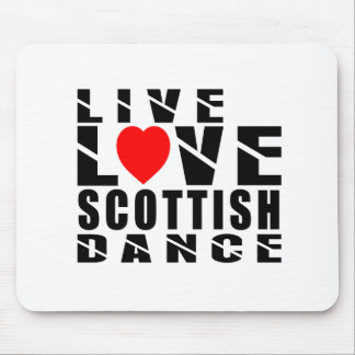 SCOTTISH COUNTRY DANCING Designs Mouse Pad