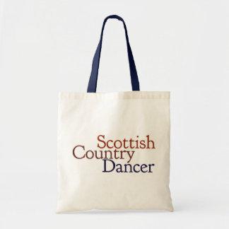 Scottish country dancing tote bag