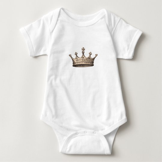 scottish crown baby bodysuit