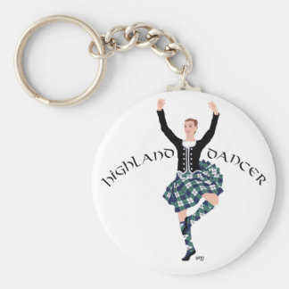 Scottish Dancer Highland Fling Key Ring