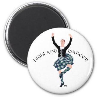 Scottish Dancer Highland Fling Refrigerator Magnets