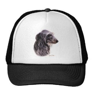 Scottish Deerhound Trucker Hat