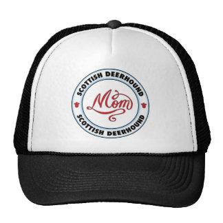 SCOTTISH DEERHOUND mom Mesh Hats