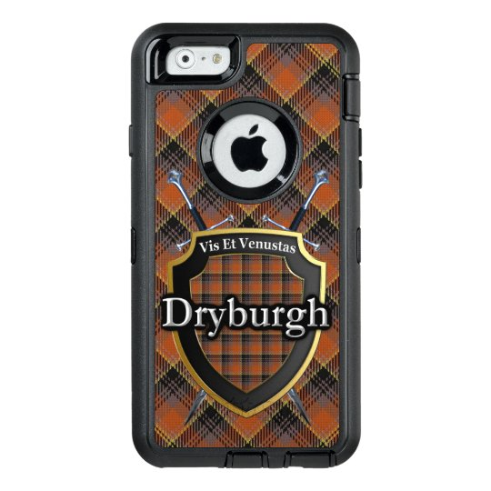 Scottish Dryburgh Swords and Shield Tartan OtterBox Defender