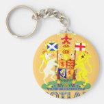 scottish Emblem Keychains