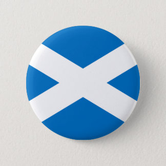 Scottish Flag 6 Cm Round Badge
