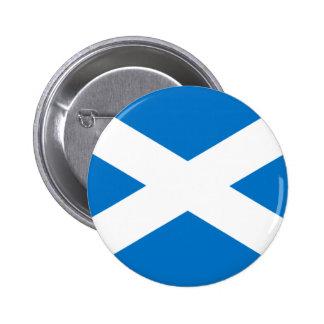 Scottish Flag 6 Cm Round Badge