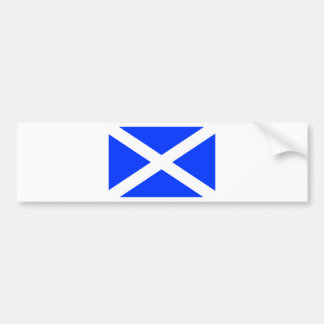 Scottish Flag Bumper Sticker