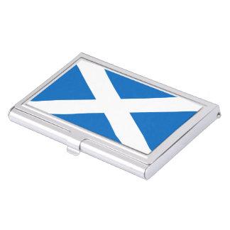 Scottish flag case for business cards