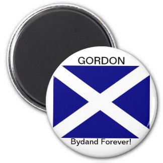 Scottish Flag clothing 6 Cm Round Magnet