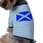 Scottish Flag Dog Clothing