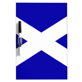 Scottish Flag Dry Erase Board
