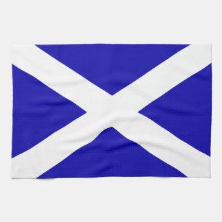 Scottish Flag Hand Towels