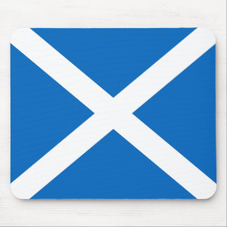 Scottish Flag Mouse Mat in Official Colours