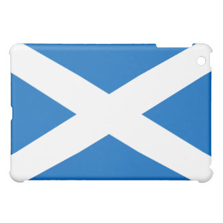 Scottish Flag of Scotland Saint Andrew's Cross iPad Mini Cover