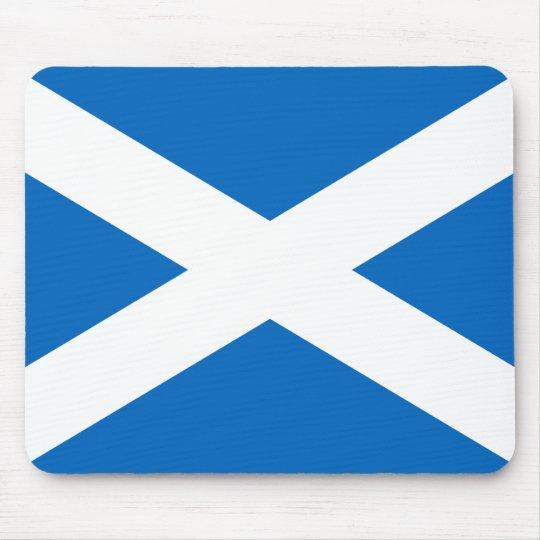 Scottish Flag of Scotland Saint Andrew's Cross Sal Mouse Pad