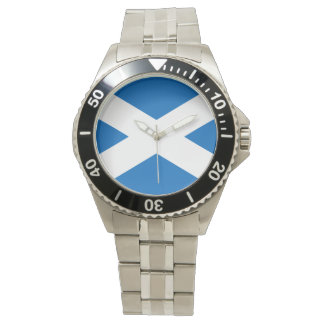 Scottish Flag of Scotland Saint Andrew's Cross Watch