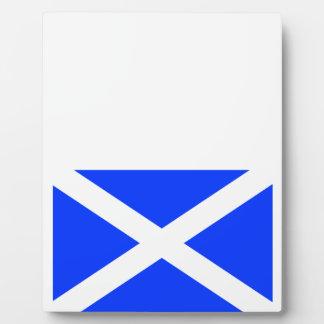 Scottish Flag Plaque